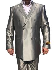 JSM-6755 Alberto Nardoni Best Mens Italian Suits Brands Double