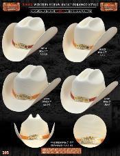 EBB7111 5000x Durango Style Western Cowboy Straw Hat