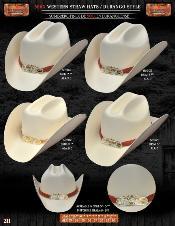 DBE1931 500x Durango Style Western Cowboy Straw Hats