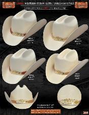 JBX1776 1000x Durango Western Cowboy Straw Hats