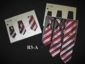 SM350 Mytie Father And Sons Burgundy Stain Resistant With