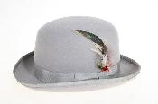 Fabric Felt Fedora Grey