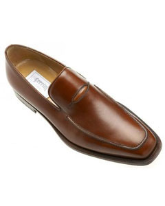 Brown Dress Shoe Ferrini Genuine