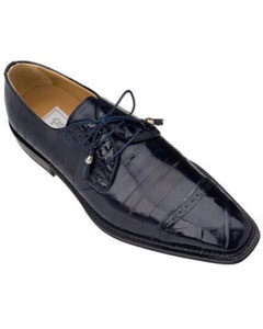 KA4803 Ferrini Navy Genuine Alligator/Eel Shoes for Online