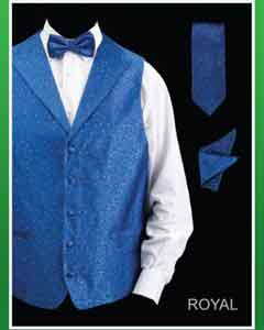 KLO93 4 Piece Vest Set (Bow Tie Neck Tie