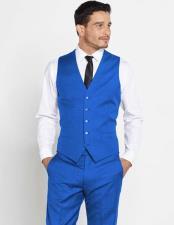 Mens Vest Matching Solid