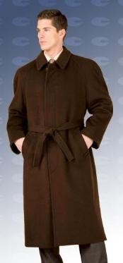 "Florence 48"" four button single breasted coat with an"