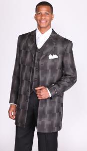 Black Church Suit