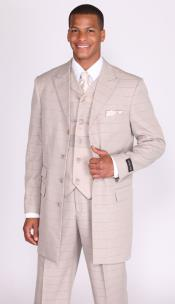 Button Style 3 Piece