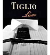 SD336  White Tiglio Luxe Mens Pleated Cotton French
