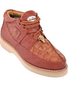 PN-Z4 High Top Exotic Skin Sneakers for Authentic Los