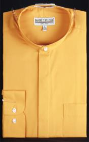 PN_D51 Banded Collar dress shirts without collars no collar