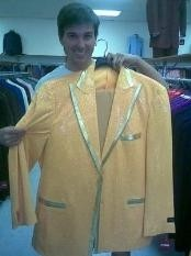 Yellow-GoldShinyFlashyMetallic1920stuxedostyleSuitPeak