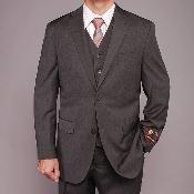 Fiorelli Gray Teakweave 2-button Vested