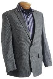 Gray Designer Classic Tweed houndstooth