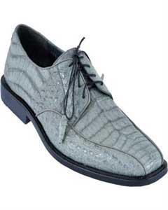 KA4012 Gator Skin Dress Shoe – Gray