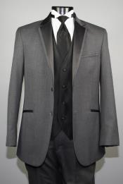 PNG54 Dress Dark Grey Masculine color Gray ~ Grey