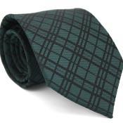 Slim narrow Style Forest Green Gentlemans Necktie with Matching