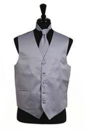 VS1026 Vest Tie Set Grey