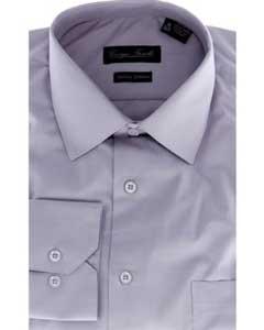Product# BTH7299 Modern-fit Dress Shirt Grey