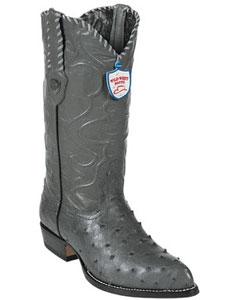 Grey Men's Cowboy Boots