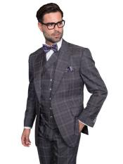 attire brand Grey Plaid
