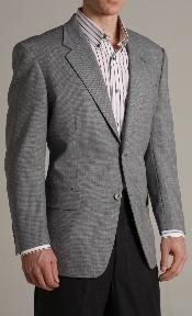 KX34890 Single Breasted Grey-ish Blue Two buttoned Superior Fabric