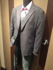 Men's Grey Notch Lapel 2