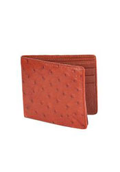 HON8919 Wallet ~ billetera ~ CARTERAS Honey Genuine Ostrich