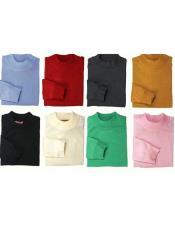 GD821 Mens Inserch Mock Neck Pullover High Collar Sweater