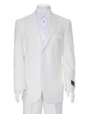 TTX778 Charming Ivory Two Button Tuxedo