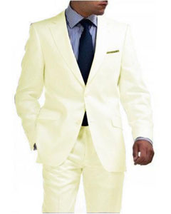 Mens Mens Linen Suit - Light