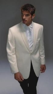 Wool Fabric Dinner Jacket Single