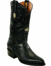 JSM-2267 Mens Leather Genuine Lizard Skin With J Toe