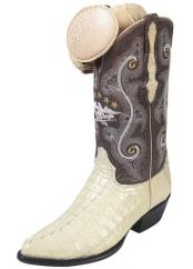 JSM-4200 Mens Handcrafted El General Caiman Tail J Toe