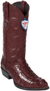 Product#NT7834WildWestJ-ToeBurgundy~Maroon~Wine