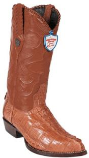 Wild West J-Toe Cognac cai