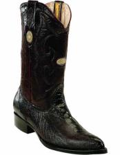 JSM-2276 Mens Genuine Ostrich Leg Skin With Full Leather
