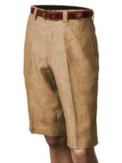 SM860 Inserch Brand Brand/Merc Pleated Slacks Flat Front Shorts