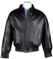 MK833 Lamb Leather with Zip-Out Liner Classic Cut Bomber