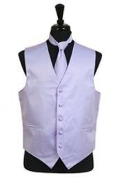 VS1032 Vest Tie Set Lavender