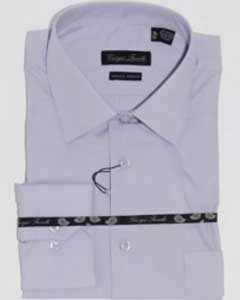 Modern-fit Dress Shirt Lavender