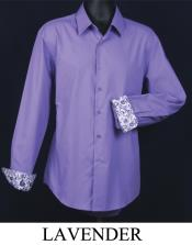 KA5589 Fancy Slim narrow Style Fit Dress Shirt -