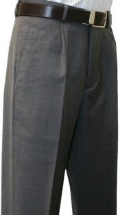 SW977 Leonardo Valenti Single Pleated Slacks Dress Pants Roma