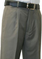SW974 Leonardo Valenti Single Pleated Slacks Dress Pants Roma
