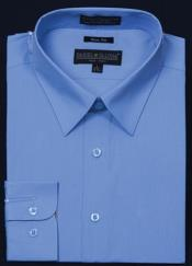 KA5673 Slim narrow Style Fit Dress Shirt - Light