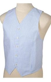 JR71W Light Blue and White Stripe ~ Pinstripe Summer