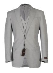 JSM-4045 Vitarelli Mens Notch Lapel Fashion Fit Cut Vested