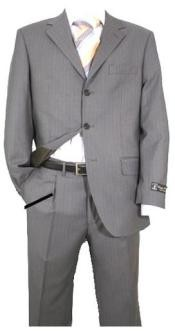 Light Gray Pinstripe Superior