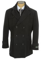 SM4763 Lauren Ralph Lauren Double Breasted Peacoat